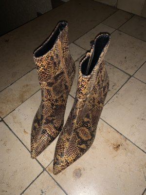 H&M Ankle Boots brown-black
