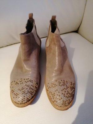 Maripé Cut out boots grijs
