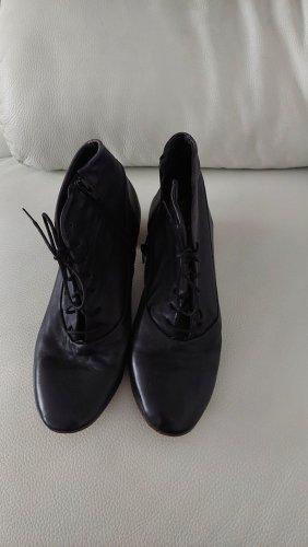 Kudeta Escarpins à lacets noir