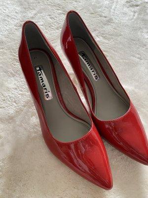 Damenschuhe gr 41 in rot