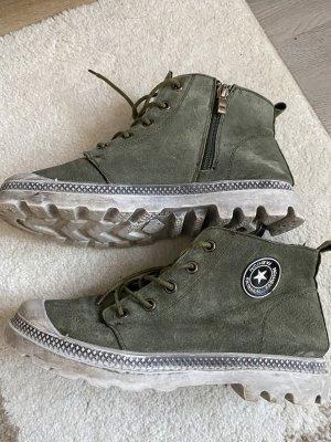 100% Fashion Low boot kaki