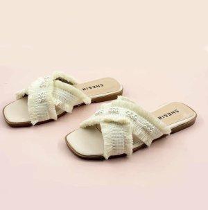 SheIn Flip-Flop Sandals oatmeal