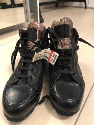 Candice Cooper Basket slip-on noir-bronze