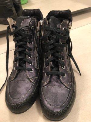 Candice Cooper Basket à lacet noir
