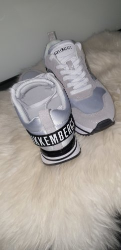 Bikkembergs Lace-Up Sneaker multicolored leather