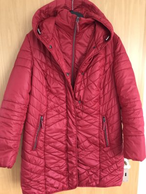 Bonita Quilted Coat red