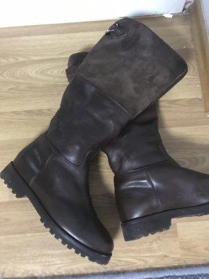 Unützer Botas de nieve marrón