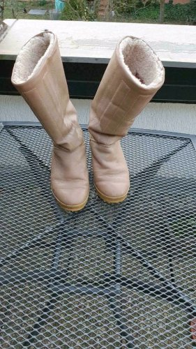 Bama Winter Boots camel leather
