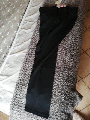 Blue Motion Spodnie ze stretchu czarny Poliester
