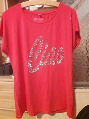 bpc bonprix collection T-Shirt neon red