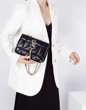 100% Fashion Sac à main noir