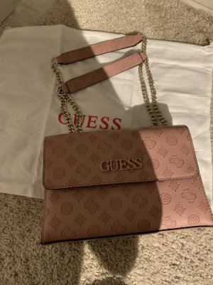 Guess Crossbody bag black-pink