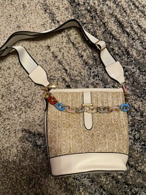 100% Fashion Mini Bag white-oatmeal