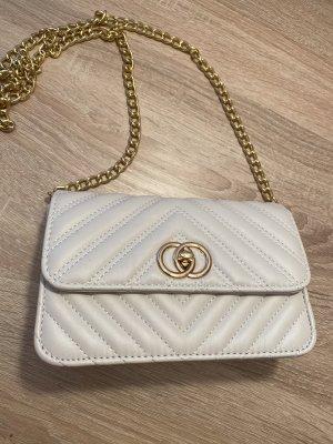 100% Fashion Handbag white