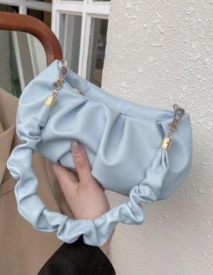 100% Fashion Sac à main bleu azur