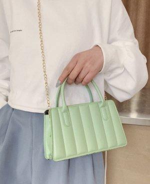 100% Fashion Sac à main vert menthe