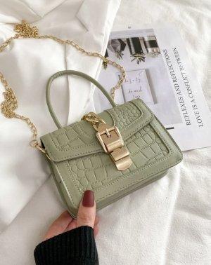 100% Fashion Sac bandoulière vert gazon