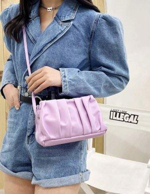 100% Fashion Sac bandoulière violet