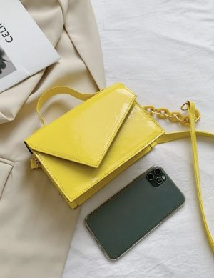 100% Fashion Sac bandoulière jaune