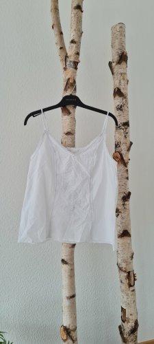 H&M Top linea A bianco