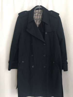 Barisal Trench Coat dark blue