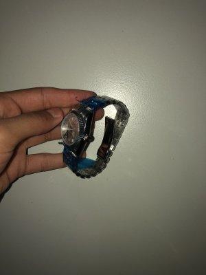 Zegarek automatyczny srebrny
