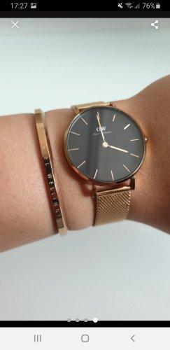 Daniel Wellington Horloge met metalen riempje zwart-roségoud