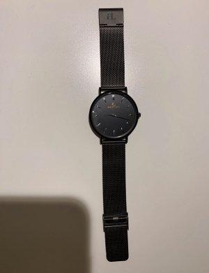 abbott lyon Orologio con cinturino di metallo nero