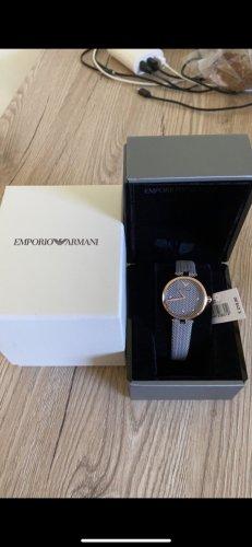 Emporio Armani Digitaal horloge grijs-goud