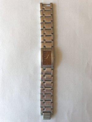 Esprit Montre avec bracelet métallique argenté-brun