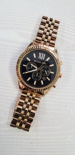 Michael Kors Reloj con pulsera metálica negro-beige