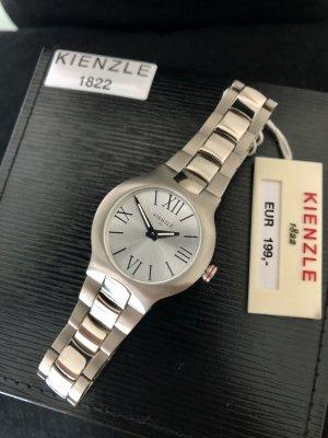 Kienzle Montre avec bracelet métallique argenté-gris anthracite métal