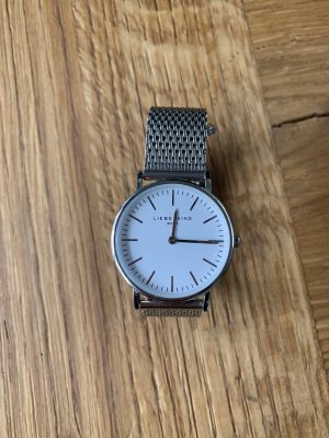 Liebeskind Watch With Metal Strap silver-colored