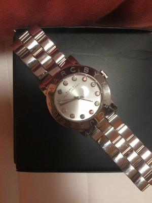 Marc Jacobs Analog Watch silver-colored stainless steel