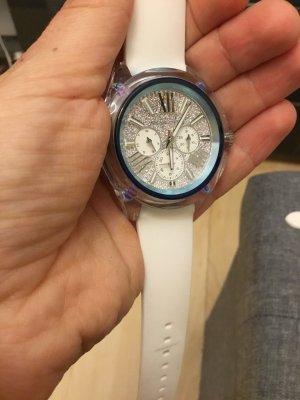 Michael Kors Reloj analógico blanco-azul acero