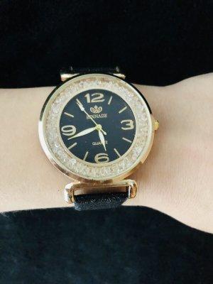Reloj analógico color oro-negro