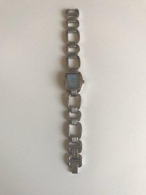 Fossil Zegarek analogowy srebrny