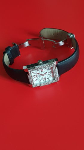 Thomas Sabo Reloj con pulsera de cuero multicolor