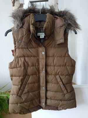 Ohne Hooded Vest brown