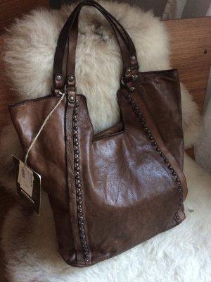 Campomaggi Shopper multicolored leather