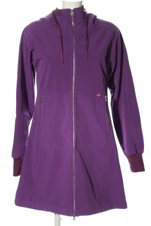 danefae Softshell Jacket lilac casual look
