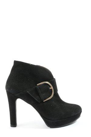 daniel footwear Botki czarny W stylu casual