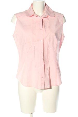 Daniel Hechter ärmellose Bluse pink Casual-Look
