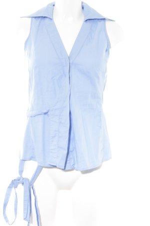 Daniel Hechter ärmellose Bluse himmelblau Casual-Look