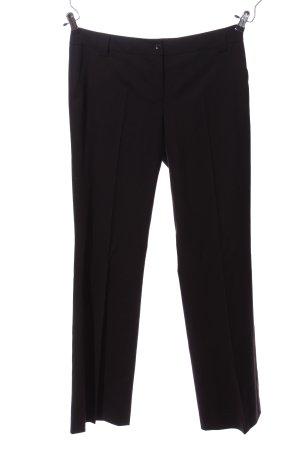 Daniel Hechter Pantalone da abito nero stile professionale