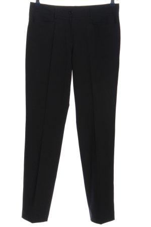 Daniel Hechter Pantalón de vestir negro estilo «business»