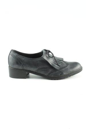 Daniel Hechter Wingtip Shoes green business style