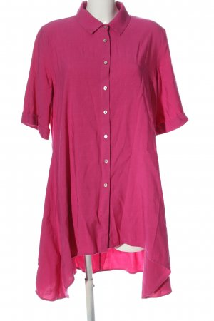 Daniel Hechter Long-Bluse pink Casual-Look