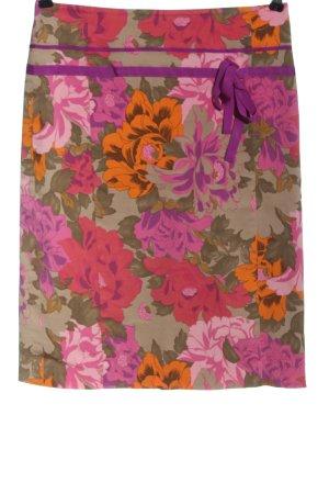 Daniel Hechter High Waist Skirt flower pattern casual look