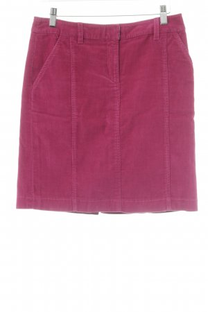 Daniel Hechter Jeans Minirock magenta Casual-Look